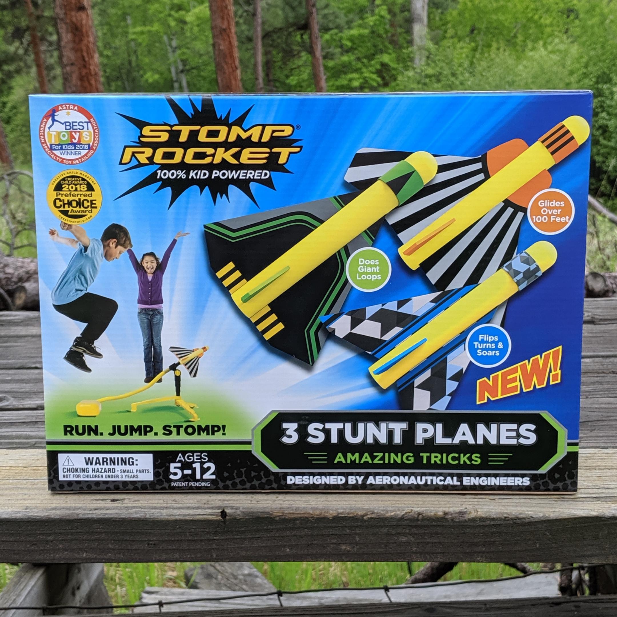 Stomp Rocket Stunt Planes