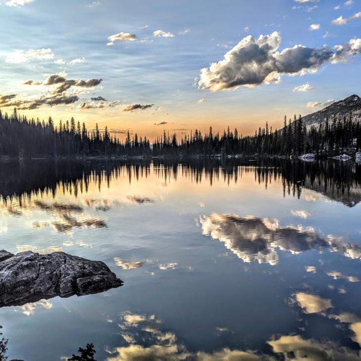 Coquina Lake Idaho