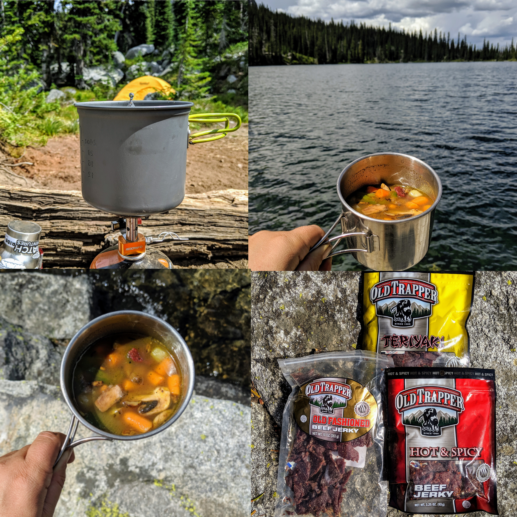 Old Trapper Beef Jerky Stew