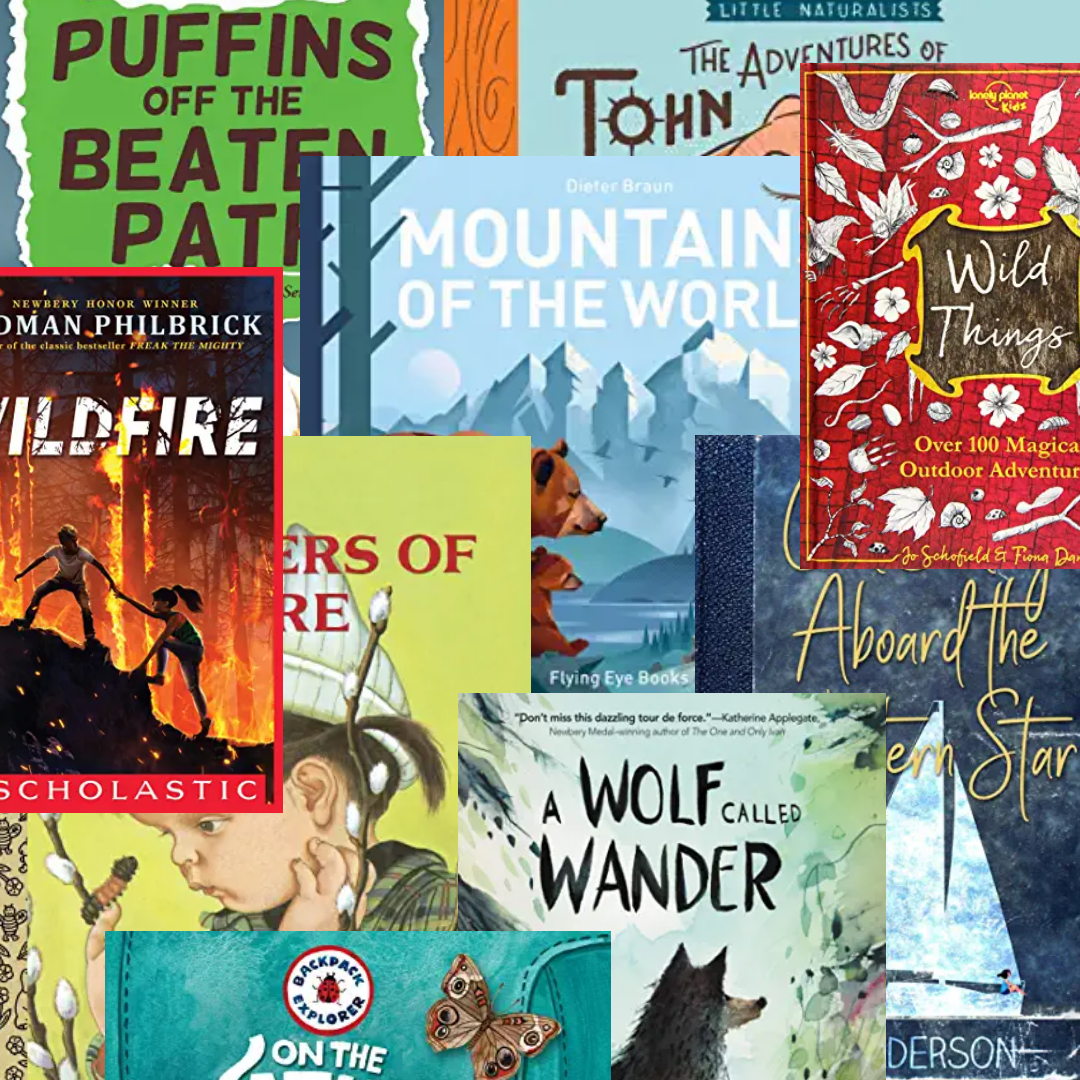 Outdoor and Nature books for kids
