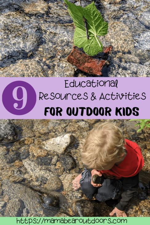 0utdoor activities for kids