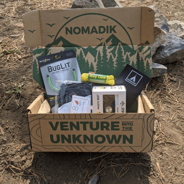 Nomadik October Subscription Box