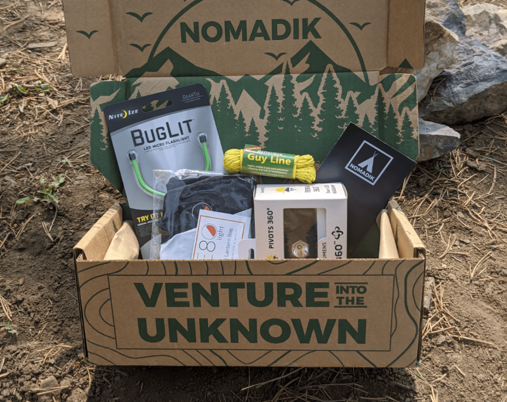 Nomadik October Subscription Box